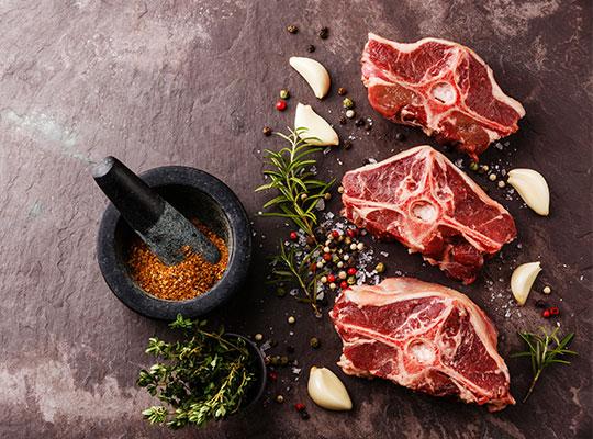 Lammfleisch Sortiment