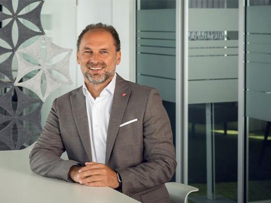Thomas Panholzer, Geschäftsführer von Transgourmet Österreich öffnet für die Zeit des zweiten Lock-Downs erneut die Großmärkte auch für Endverbraucher