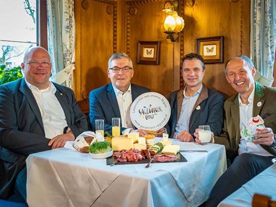 """Salzburger Land """"Ausgezeichnet aufgetischt"""""""