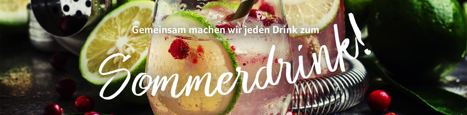 Sommer-Getränke